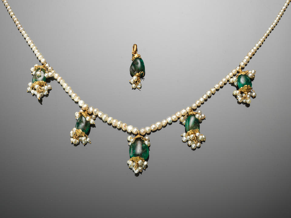Jewels that once belonged to Maharani Jindan Kaur, the last wife of Sikh Empire ruler Maharaja Ranjit Singh, and which were later inherited by her granddaughter, Princess Bamba Sutherland, were among the highlights of an auction in London.