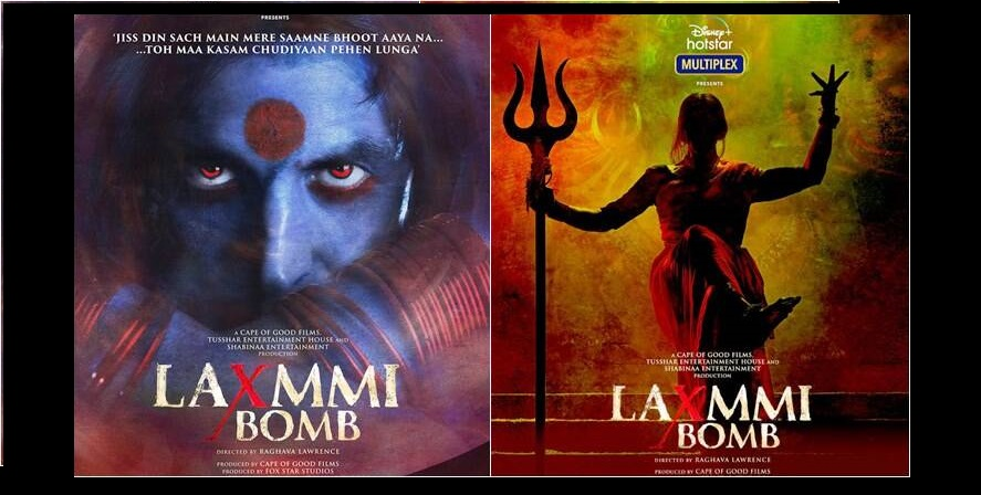 The makers of the movie made this late move after controversy arose over its erstwhile name 'Laxmmi Bomb' which was said to be 'hurting peoples' religious sentiments'. Poster Courtesy: Twitter