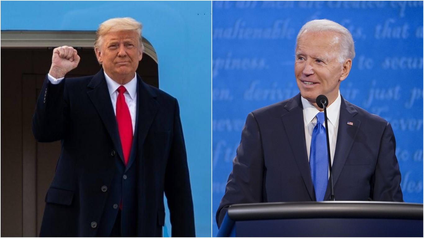 Photos courtesy: Facebook/Donald J Trump & Facebook/Joe Biden