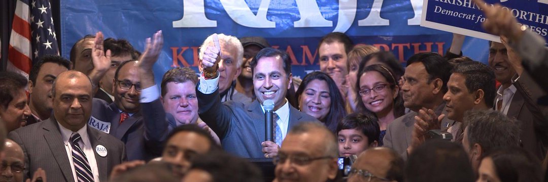 Krishnamoorthi was first elected to the House of Representatives in 2016.