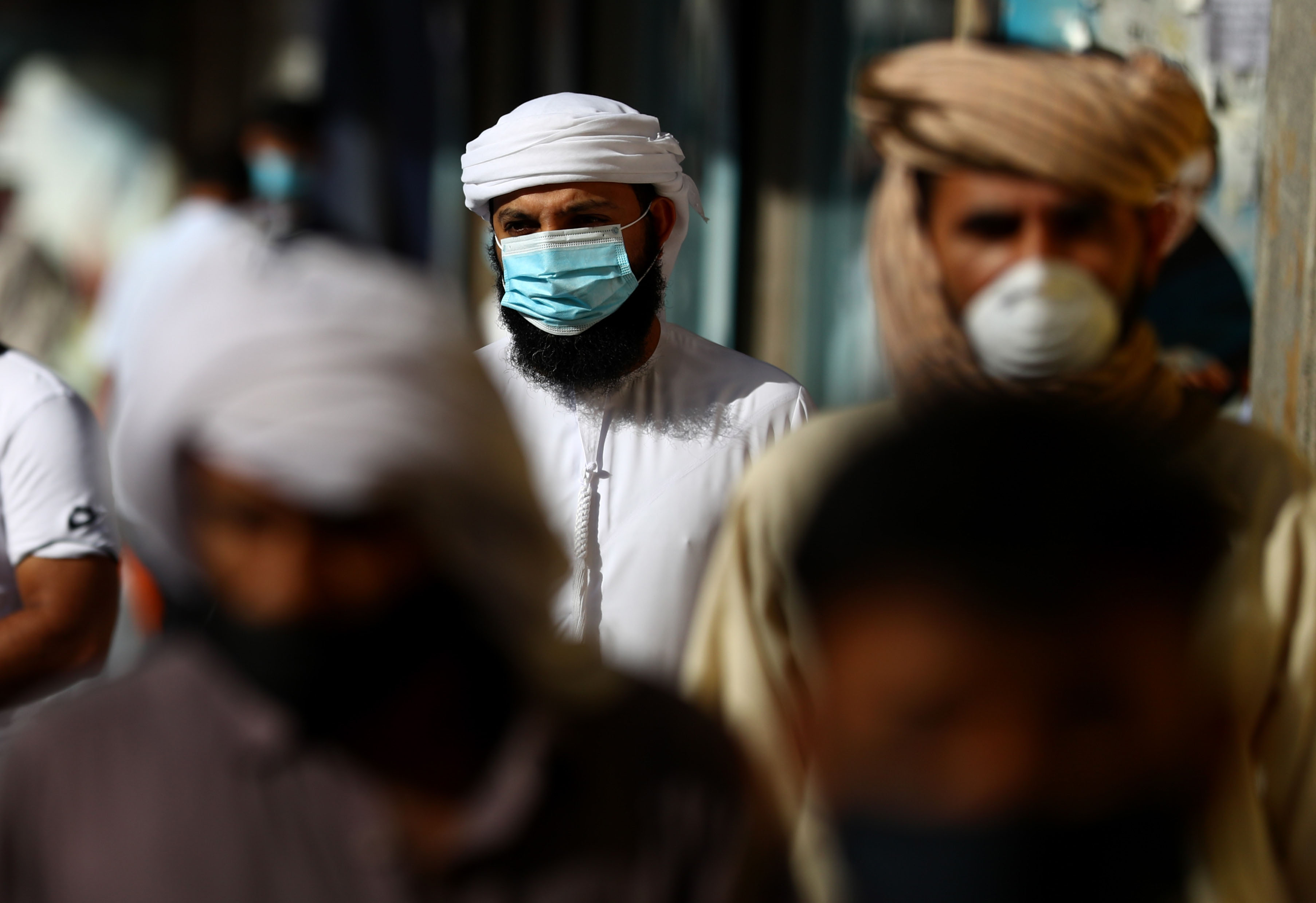 Those suffering from medical conditions that can be aggravated by wearing a face mask could be exempted from wearing one but for rest its still mandatory. Photo Courtesy: DHA