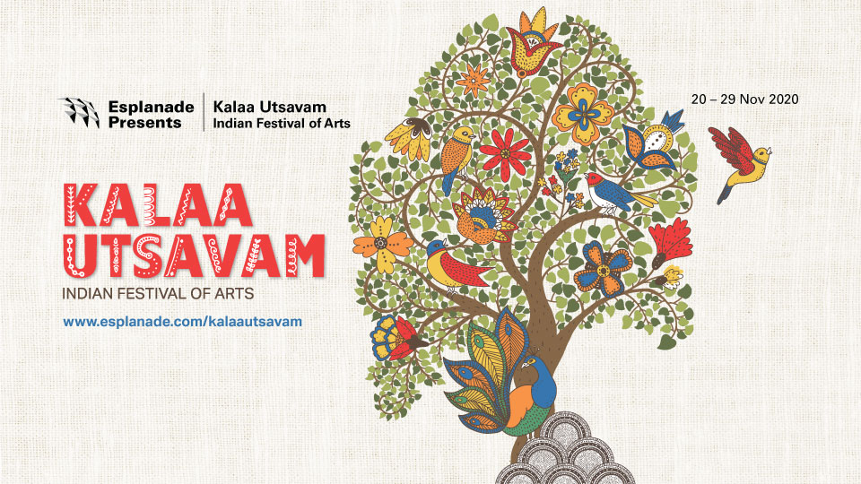 The Tree of Life is the key visual of Kalaa Utsavam – Indian Festival of Arts this year