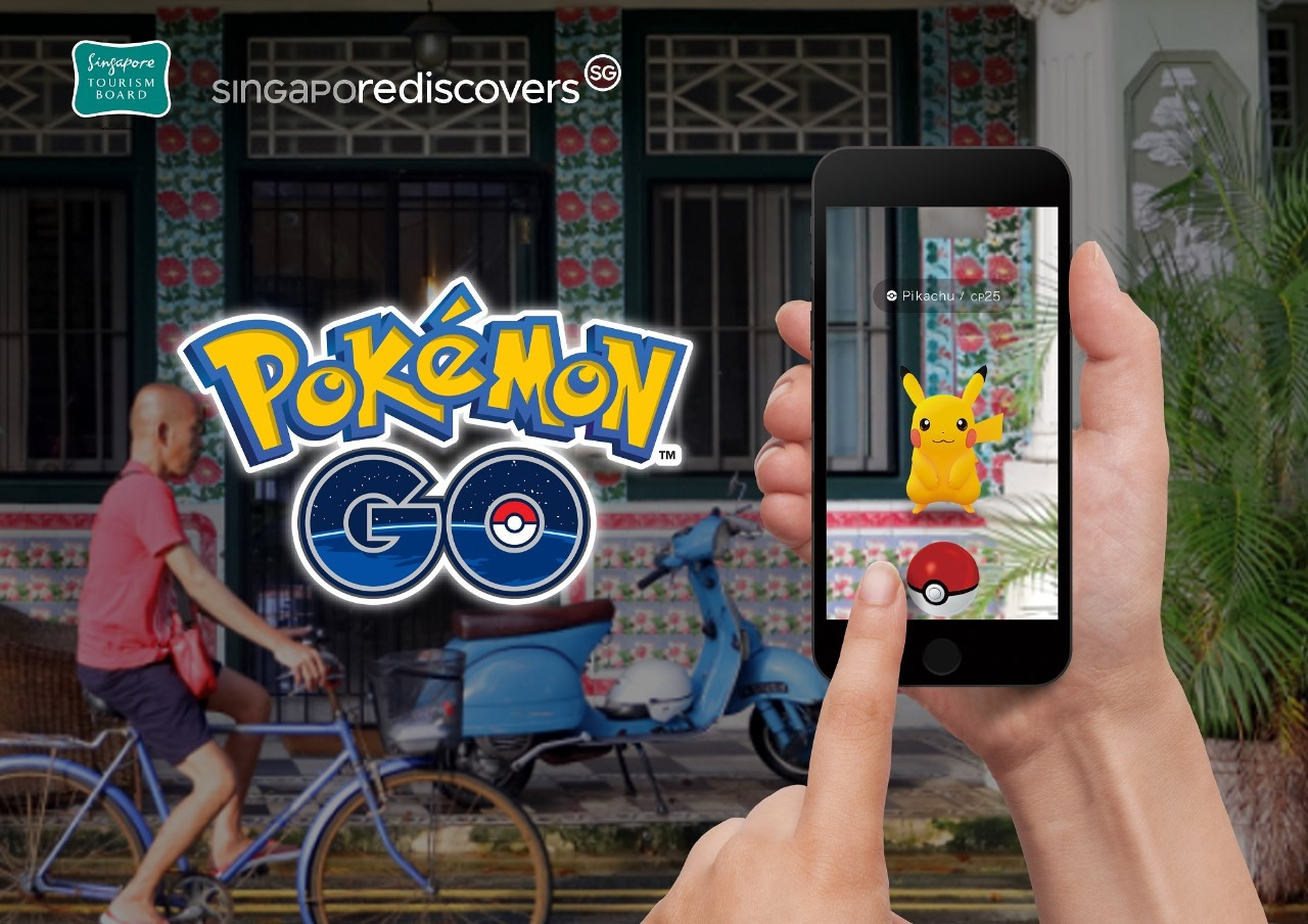 With the new partnership, Pokemon GO players will be able to meet and capture Pokémon or engage in virtual Raids with other players at up to 300 new PokéStops and Gyms located at tourism establishments and lifestyle offerings. Photo courtesy: STB
