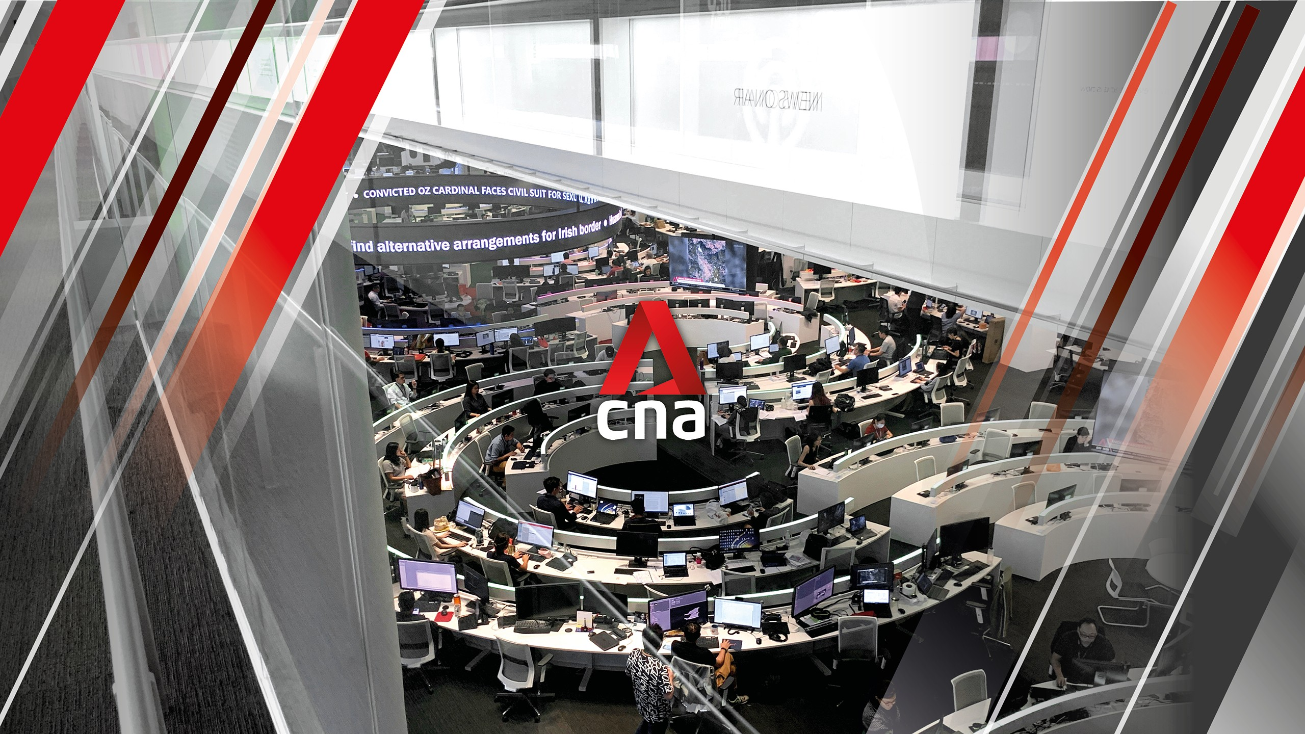 CNA has been named Channel of the Year by the London-based Association for International Broadcasting (AIB).  Photo courtesy: CNA