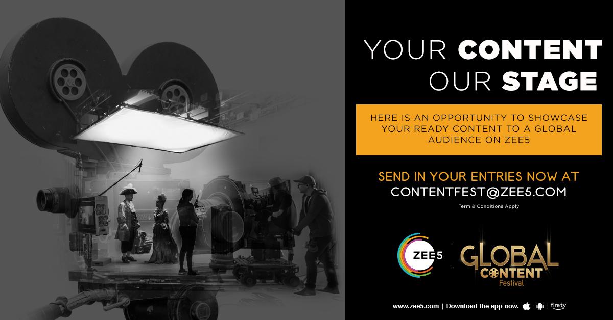 ZEE5 Global launches Global OTT Content Festival. Photo Courtesy: ZEE5 Global