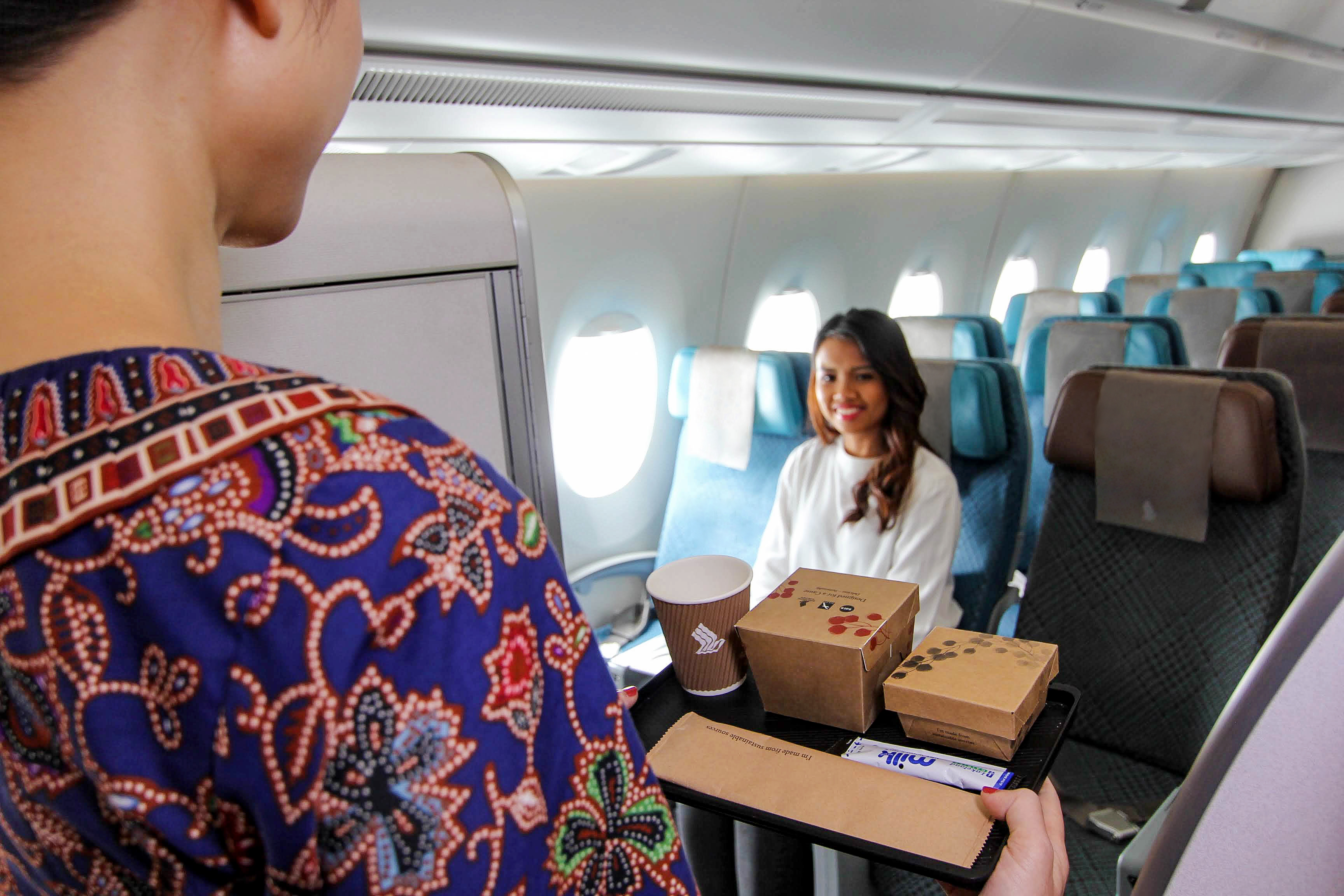 Singapore Airlines to offer wider range of main courses on short-haul flights under 3.5 hours. Photo courtesy: SIA