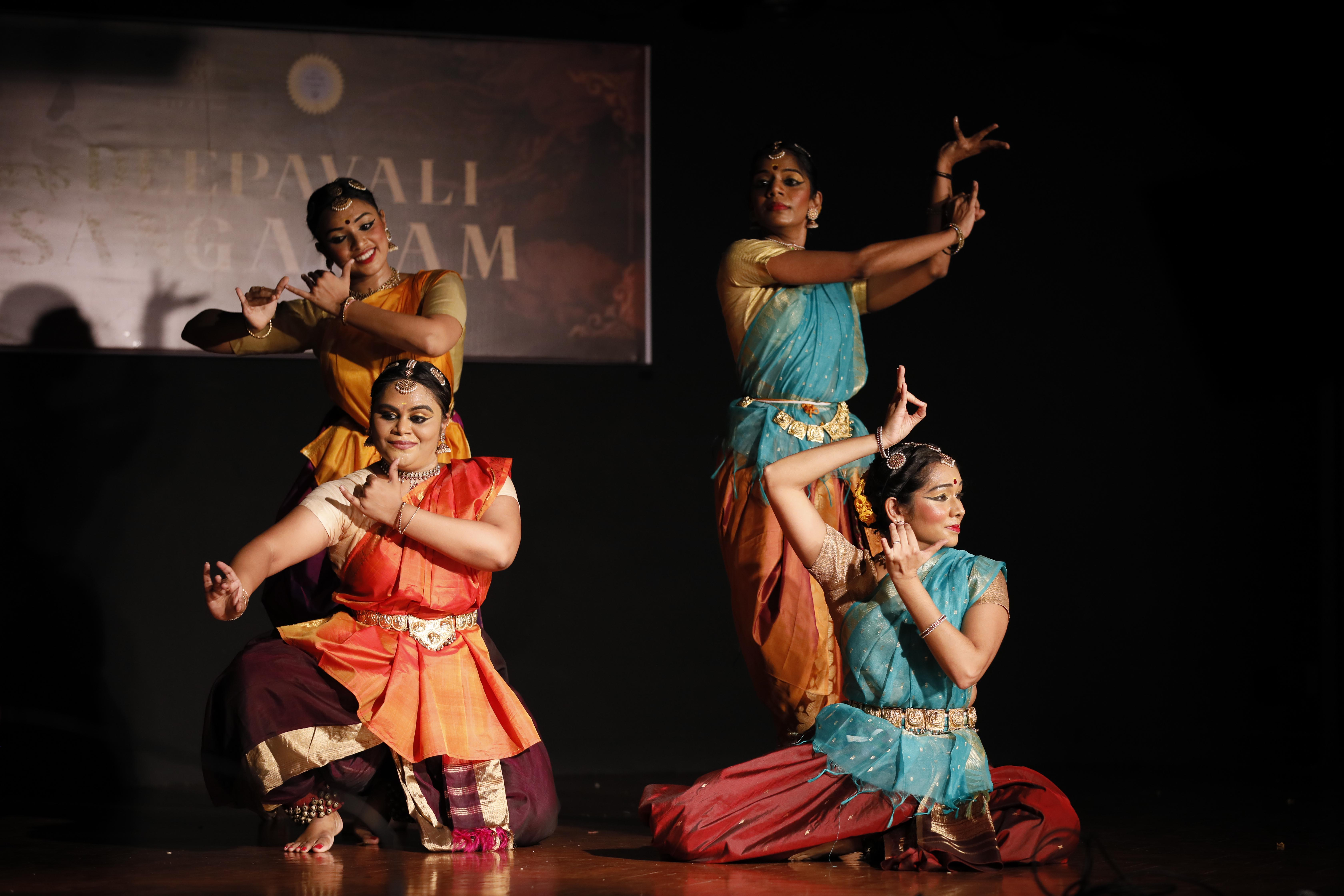 71-year-old Singapore Indian Fine Arts Society (SIFAS) brought together 11 ethnic community groups for the first time on an online platform to present Deepavali Sangamam. Photo: Connected to India