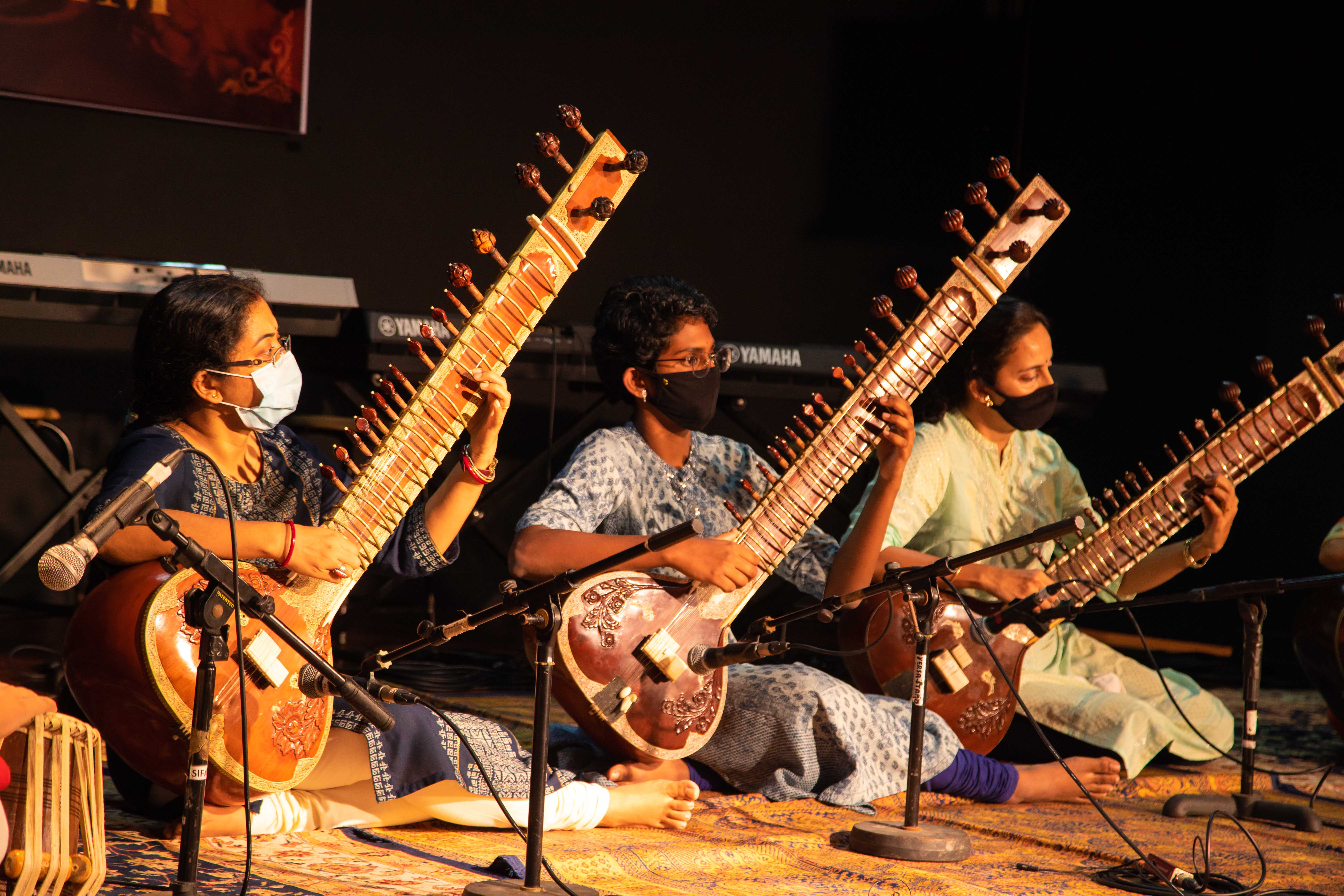 Hindustani classical, Carnatic vocals and keyboard and tabla performances by students and alumni of the Singapore Indian Fine Arts Society's (SIFAS)