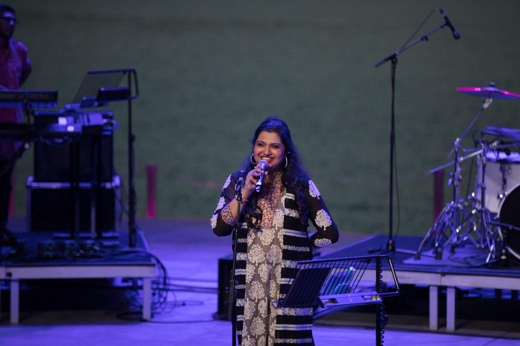 This was the third year that Raaga Rhapsody performed at Kalaa Utsavam.
