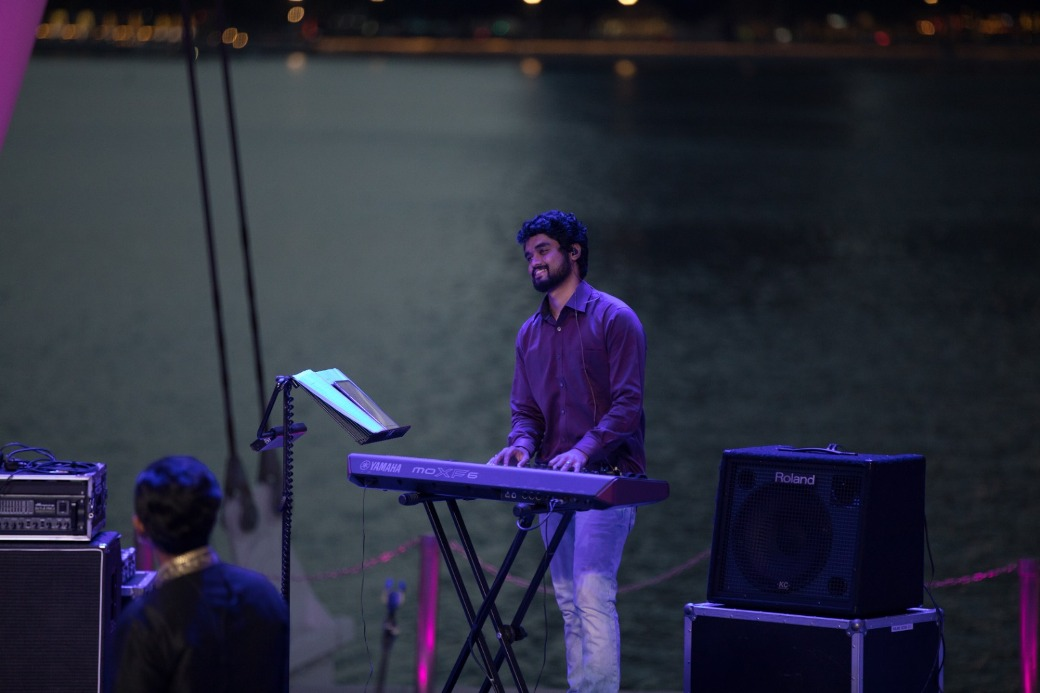 The performance included a tribute to SP Balasubramaniam. Photo courtesy: Esplanade