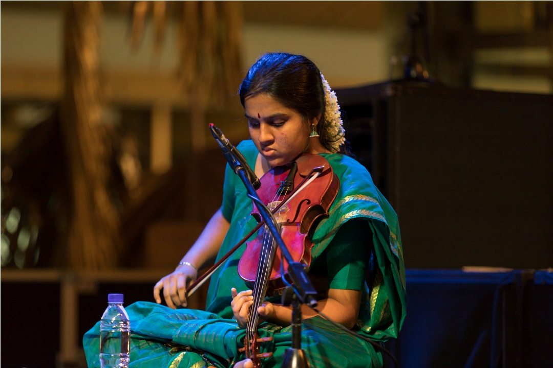 SIFAS Alumni brings together former students and emerging talents with the passion for Indian classical music. Photo courtesy: Esplanade