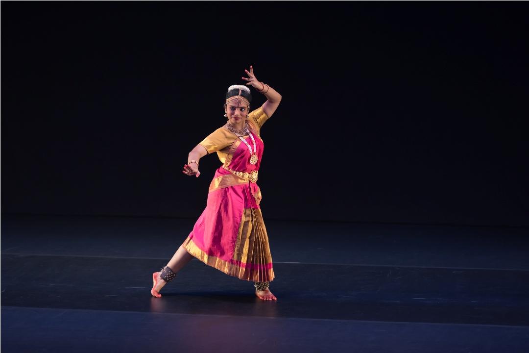 Mridula completed her bharatanatyam diploma at SIFAS in 2018. Photo courtesy: Esplanade