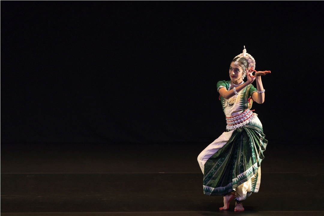 Parvathy Varma has been learning odissi at Chitrakala Arts, Singapore. Photo courtesy: Esplanade