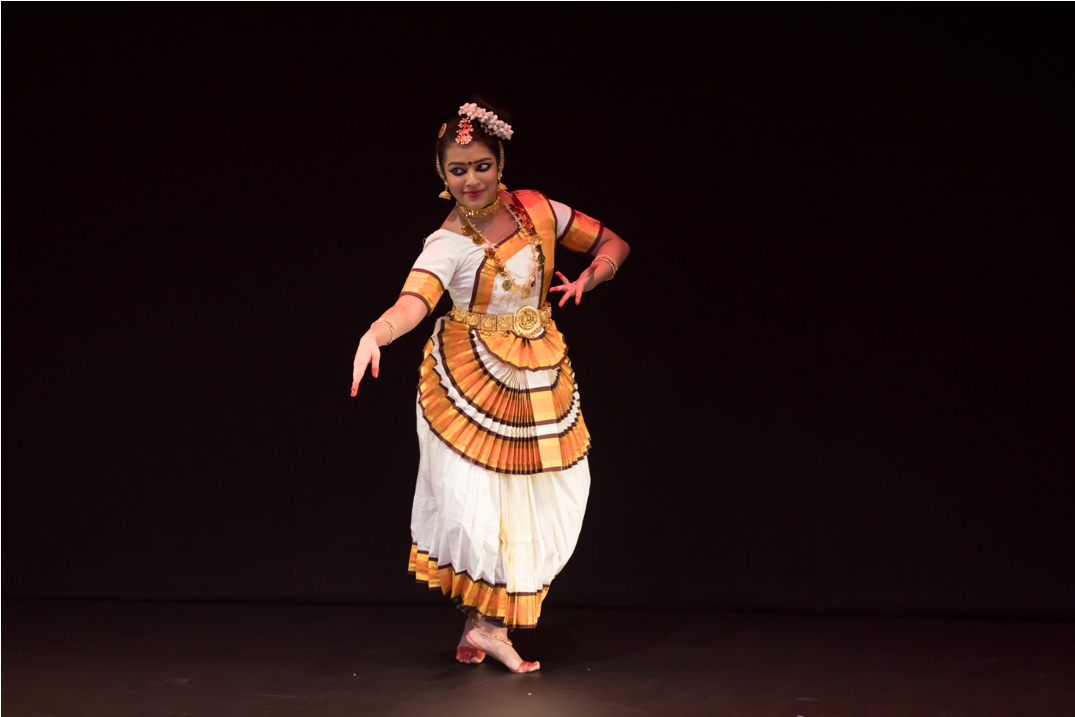 Avantika Menon has studied two different Indian classical dance forms - bharatanatyam and mohiniyattam. Photo courtesy: Esplanade