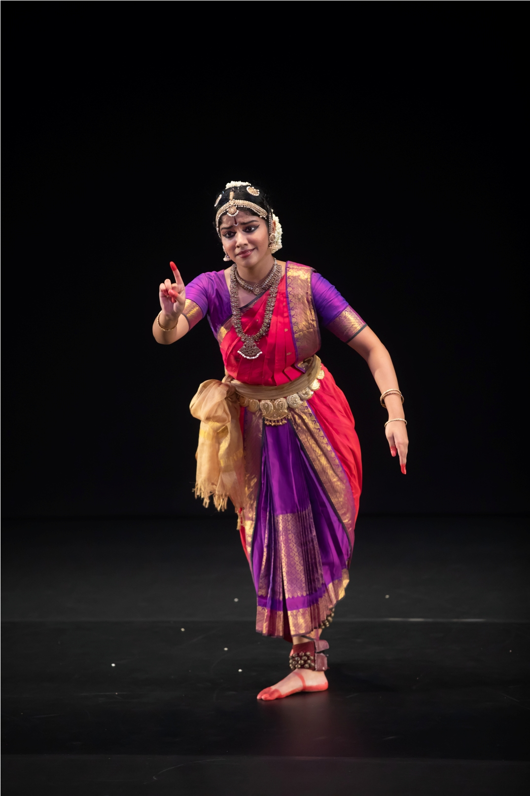 Preethi Devarajan started learning bharatanatyam at the age of six at SIFAS. Photo courtesy: Esplanade