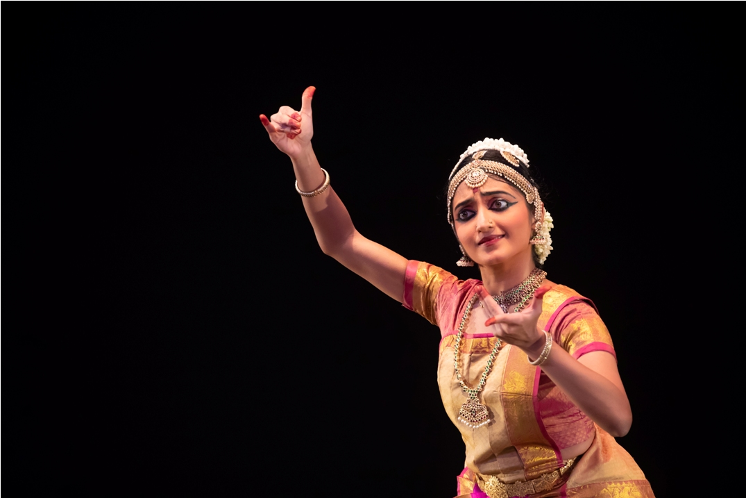 Ashmita completed her bharatanatyam arangetram in June 2018. Photo courtesy: Esplanade