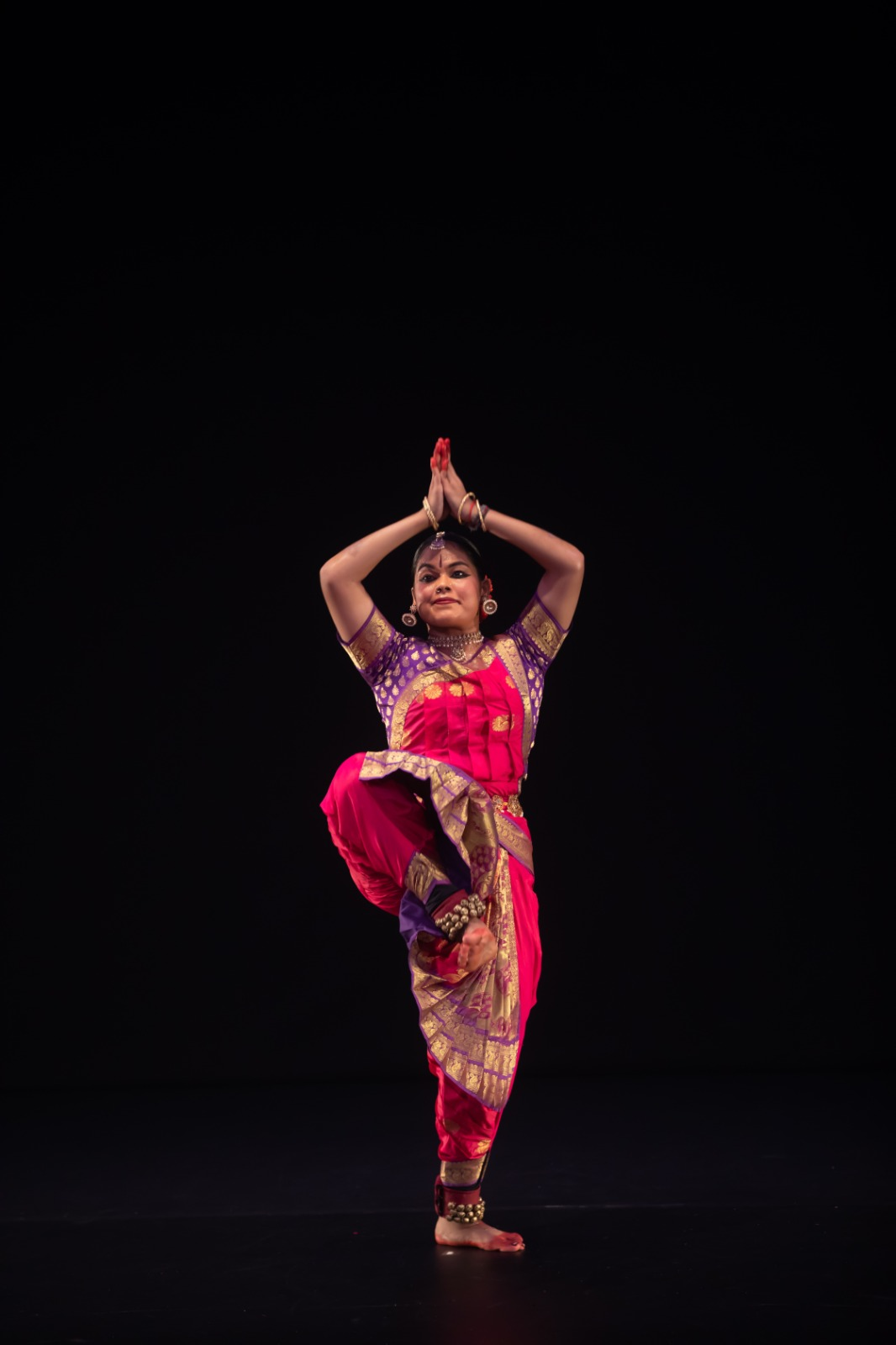 Periyachi Roshini started learning bharatanatyam from age five and is currently at LASALLE College of the Arts undertaking her Diploma in Performance. Photo courtesy: Esplanade