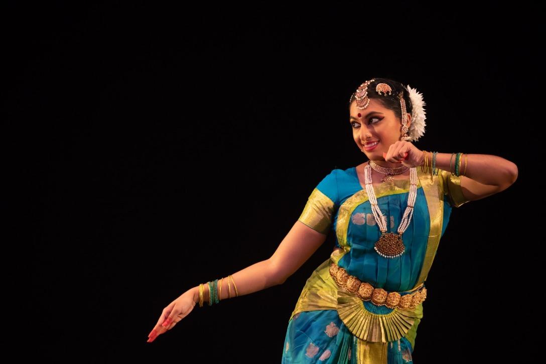 Sneha Ajayan started learning bharatanatyam at the Temple of Fine Arts under the guidance of her guru Lakshmi Krishnan. Photo courtesy: Esplanade
