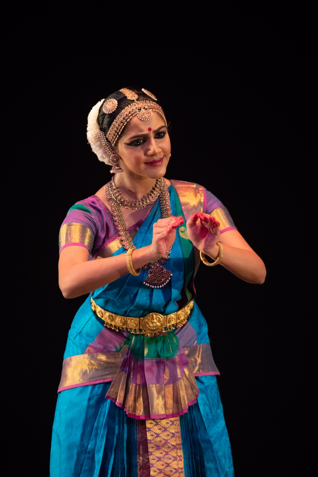 Kshirja Govind was awarded the Best Student and Natyavisharad on completion of her Dance Diploma at SIFAS. Photo courtesy: Esplanade