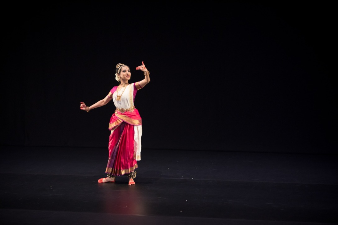 Samyukta Venkatraman has been trained in bharatanatyam and devanrityam. Photo courtesy: Esplanade