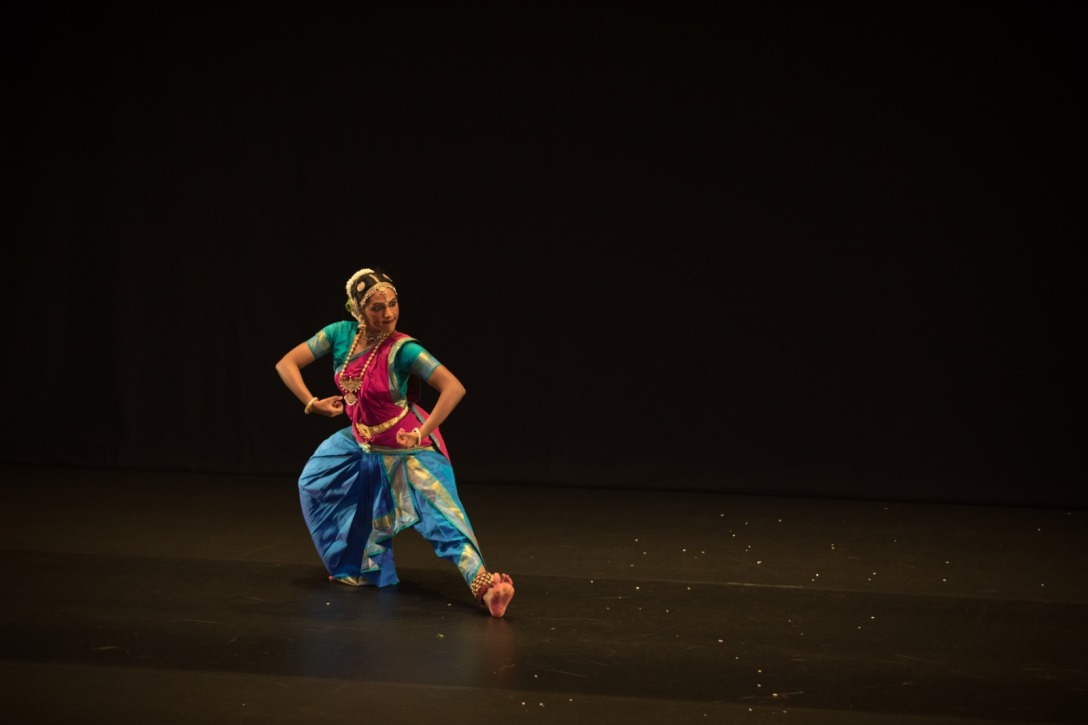 Maanasa completed her SIFAS diploma in bharatanatyam in 2015. Photo courtesy: Esplanade