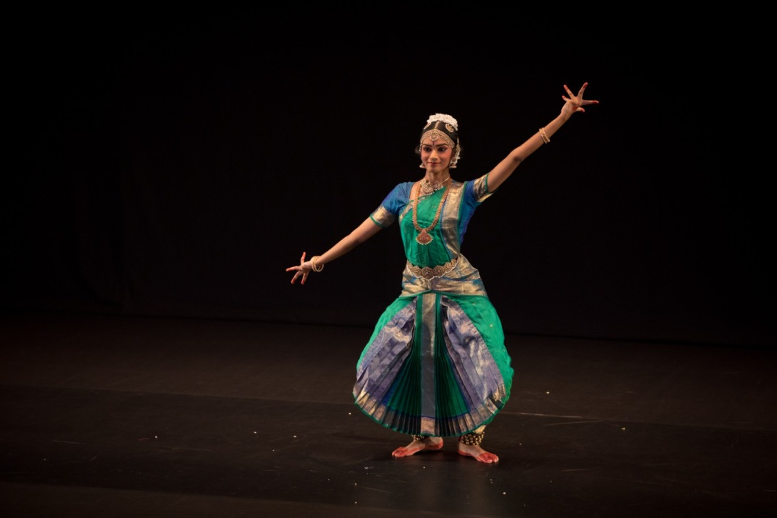 Subiksha Raman has performed locally and abroad in various Bharathaa Arts' productions. Photo courtesy: Esplanade