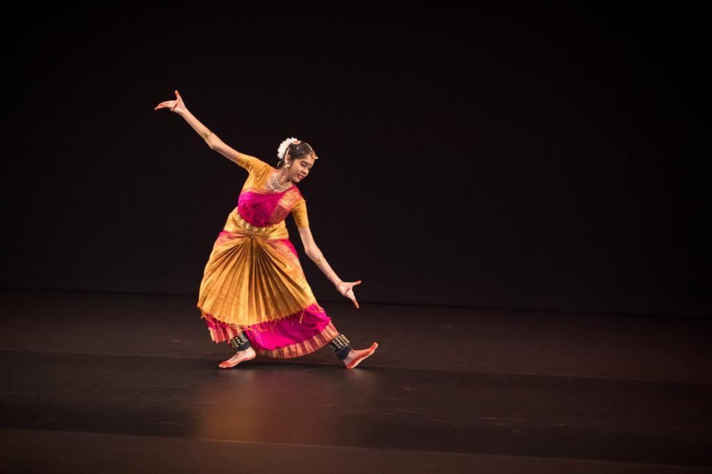 Juslina Sathguru is a bharatanatyam graduate of the Temple of Fine Arts (TFA). Photo courtesy: Esplanade