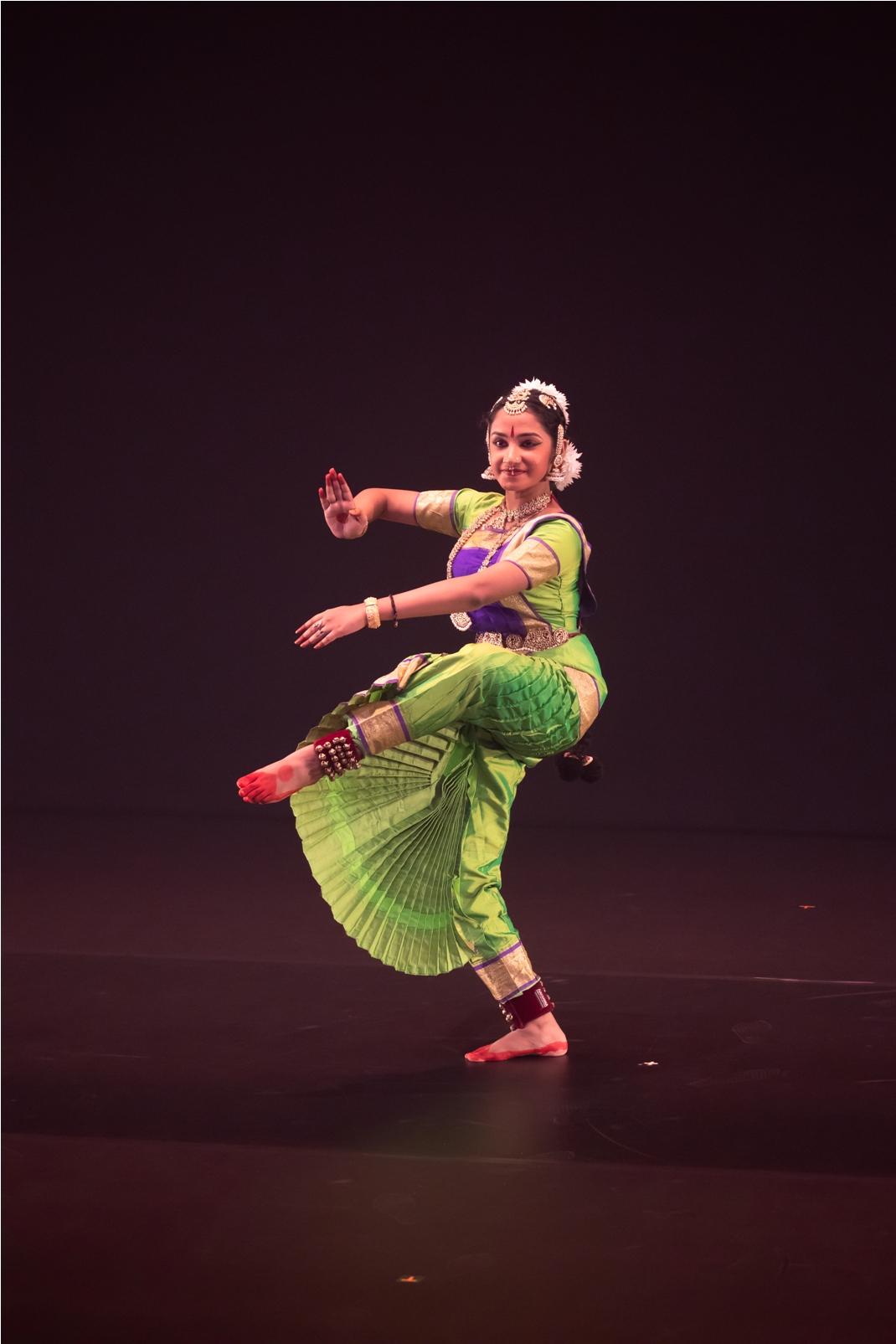 Devika Menon has been learning bharatanatyam for 11 years. Photo courtesy: Esplanade