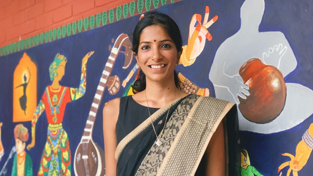 Local Carnatic singer Sushma Soma is one of the four recipients of Young Artist Award this year. Photo: Connected to India
