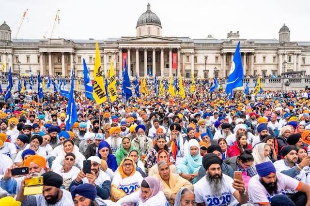 the Khalistani group outlawed by the Indian government last year, which operates in countries like USA, Canada, the UK, and Australia.