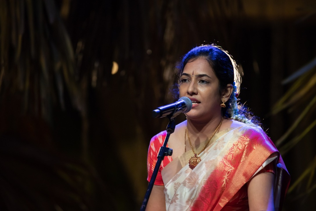 Sripriya has performed widely in Singapore and Chennai and has more than 12 years of teaching experience. Photo courtesy: Esplanade