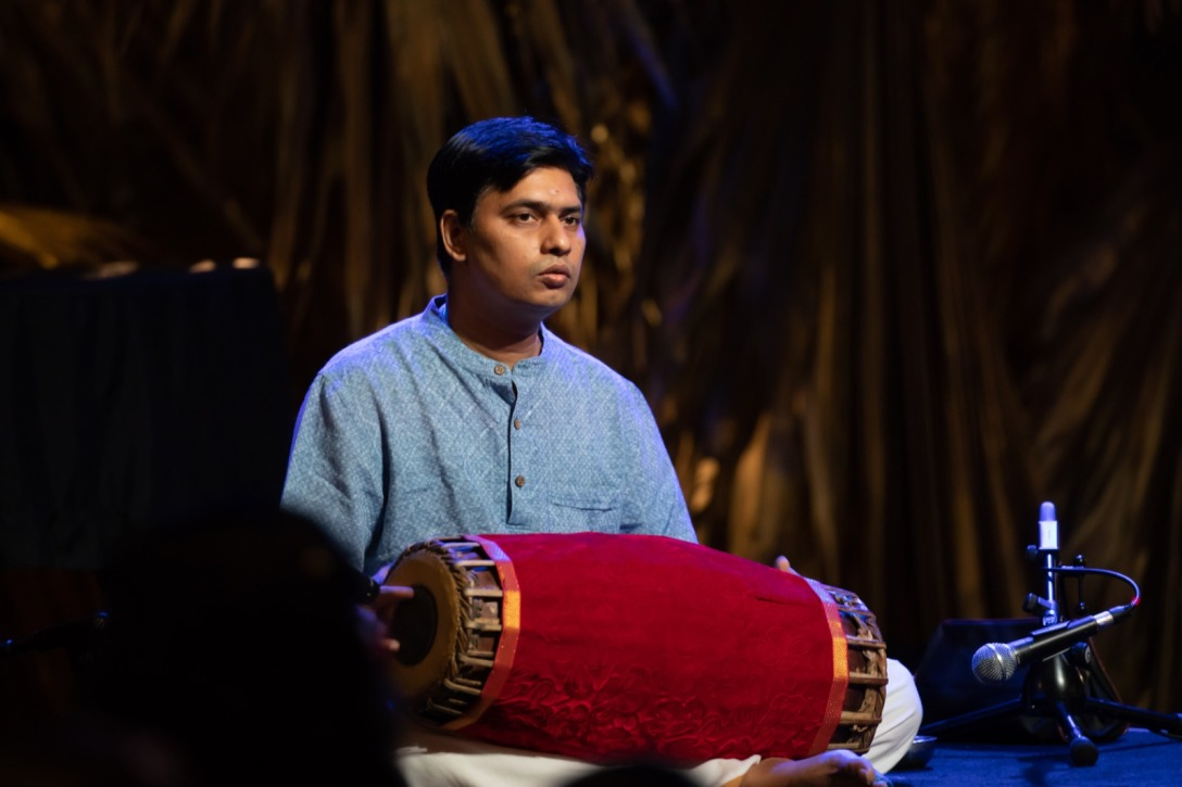 Subramaniam Radhakrishnan has performed at various prestigious music venues in Singapore, and is a B-High graded artist of the All India Radio, Chennai. Photo courtesy: Esplanade