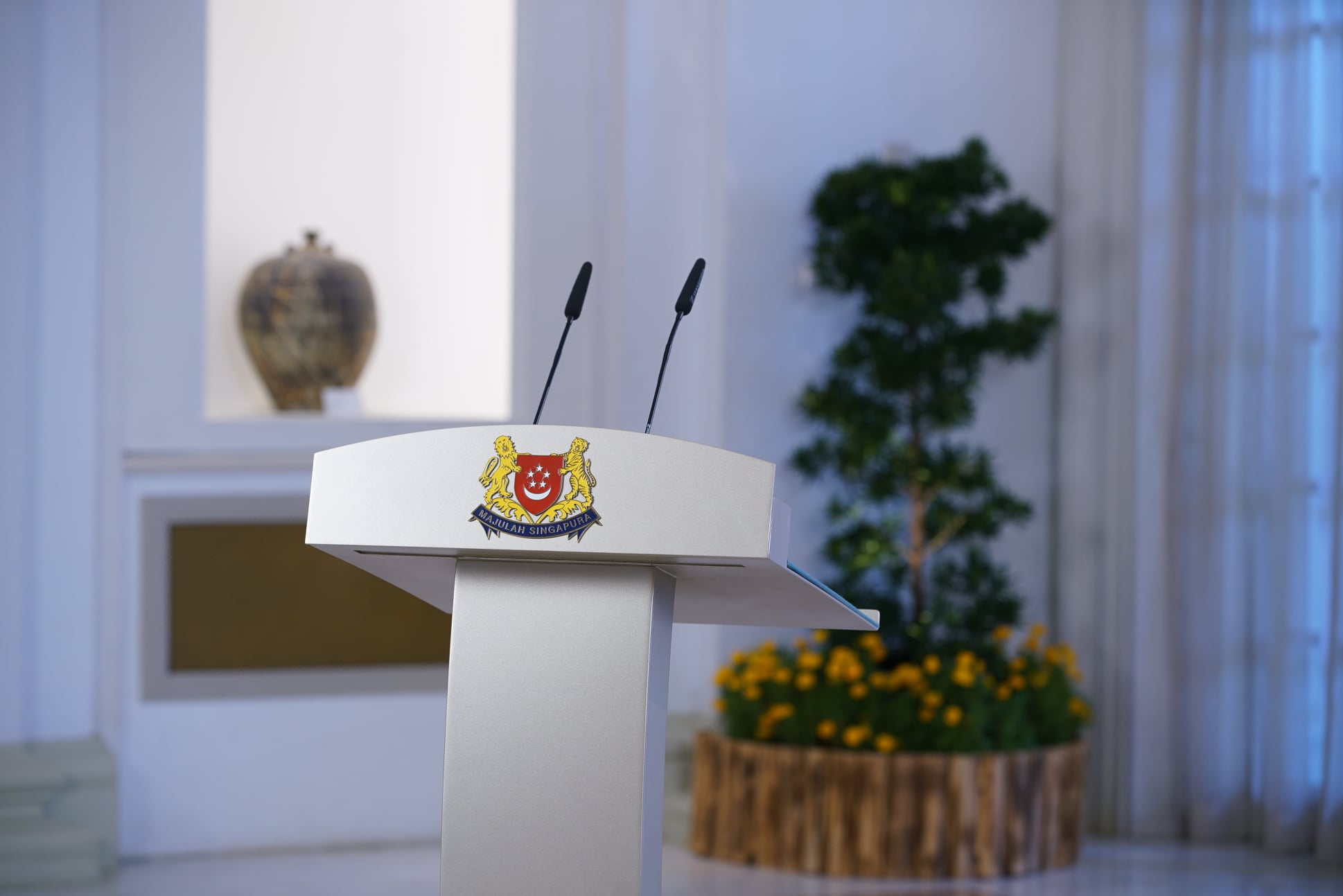 Prime Minister Lee Hsien Loong will be addressing Singapore on the COVID-19 situation at 5pm on Monday, December 14. Photo courtesy: MCI, Lee Jia Wen