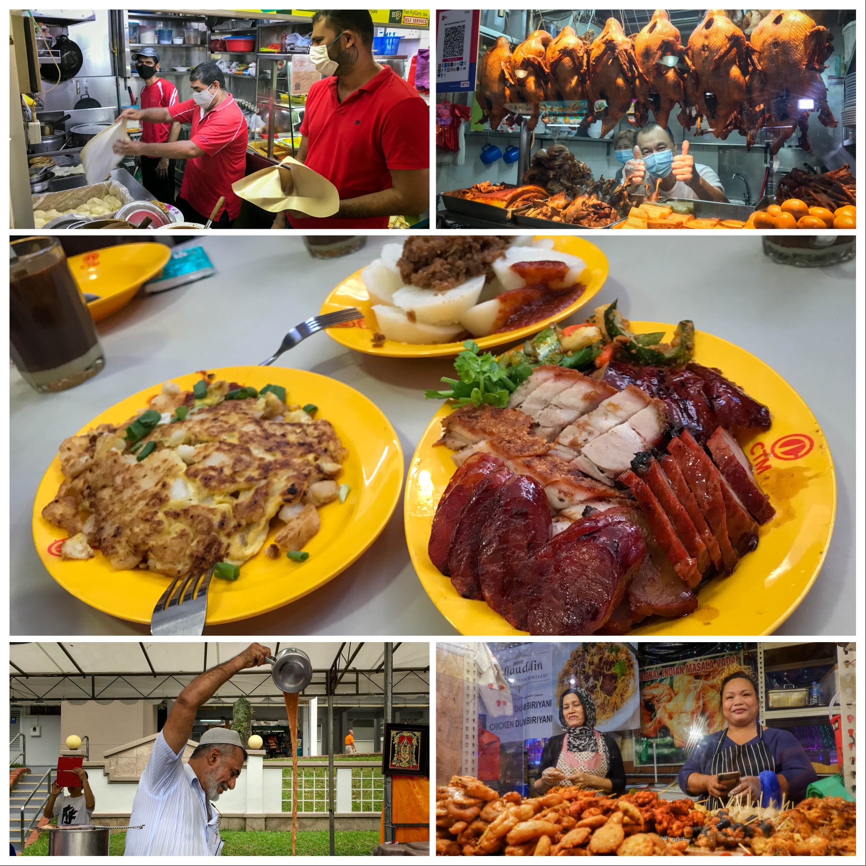 Singapore's hawker culture has been inscribed on the UNESCO Representative List of the Intangible Cultural Heritage of Humanity. Photo courtesy: Facebook/Lee Hsien Loong