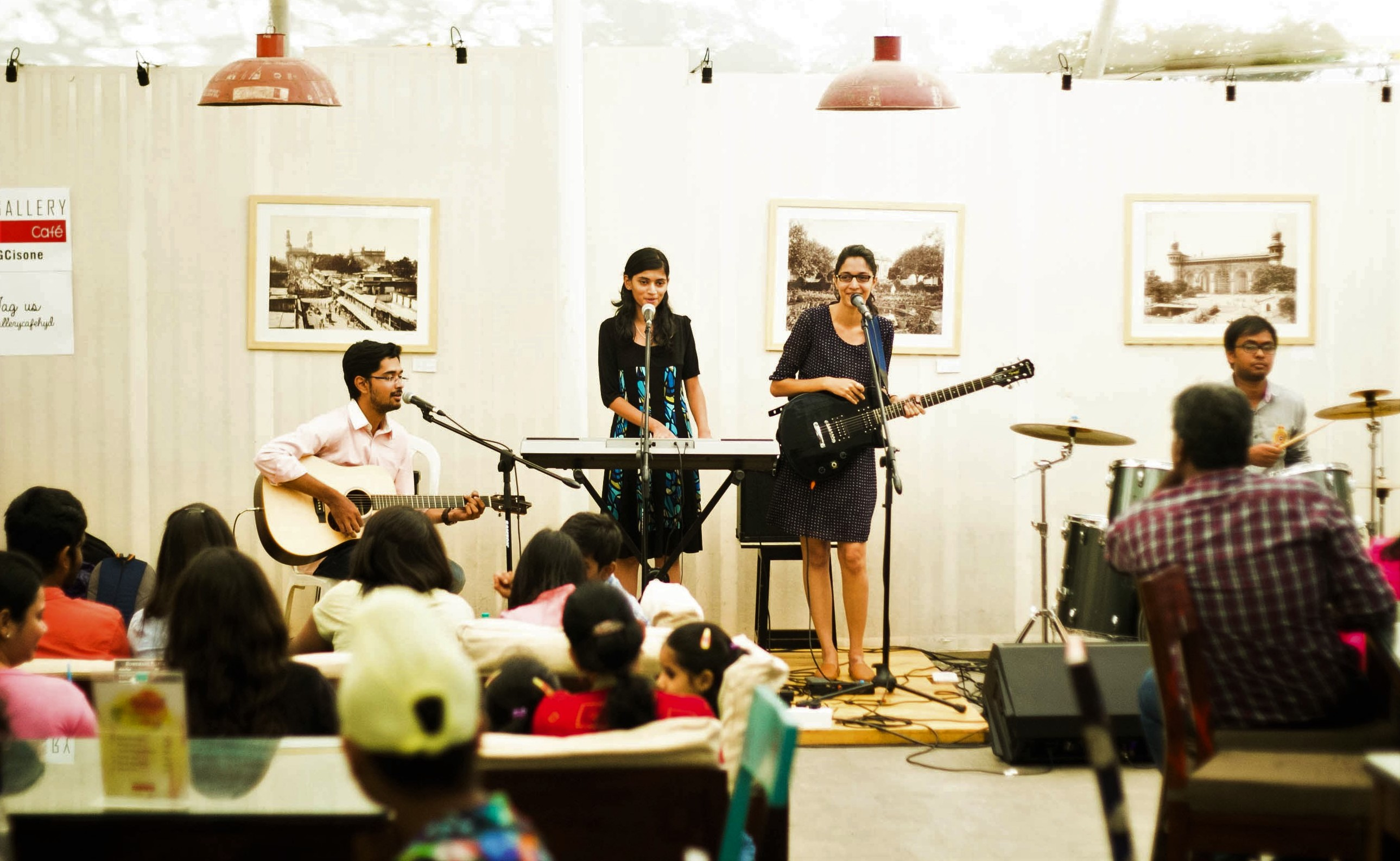 Captive is flavored with Indian classical elements that come and occasionally go through the song. Photo Courtesy: Sruthi