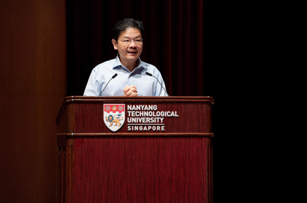 Lawrence Wong, Singapore Minister for Education and Second Minister for Finance, was the guest of honour
