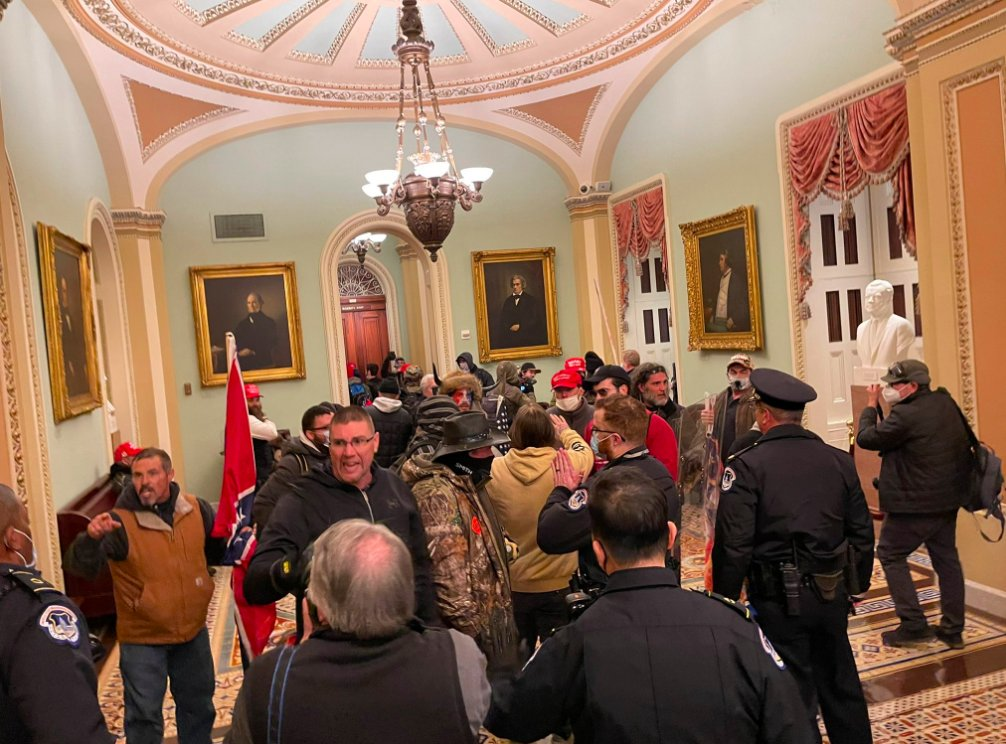 The certification came hours after at least four people were killed and over 50 arrested after a mob breached the US Capitol and forced lawmakers to evacuate the building.
