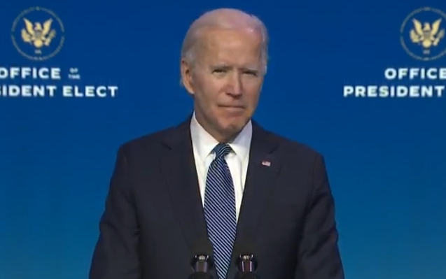"Biden described the four individuals as ""first-rate nominees"" who would restore independence at the Justice Department."