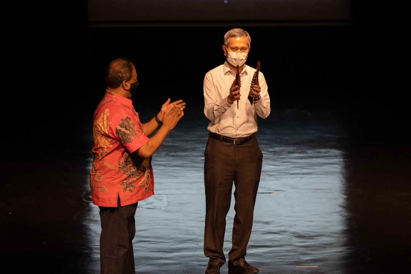 Singapore's Foreign Affairs Minister Dr. Vivian Balakrishnan was the Guest of Honour at the 'Remembering Neila Sathyalingam Festival' by Apsaras Arts