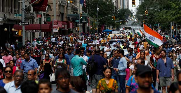 With more than 32 million people of Indian origin or (PIOs) globally, according to India's Ministry of External Affairs, Indians are the largest diaspora population in the world.