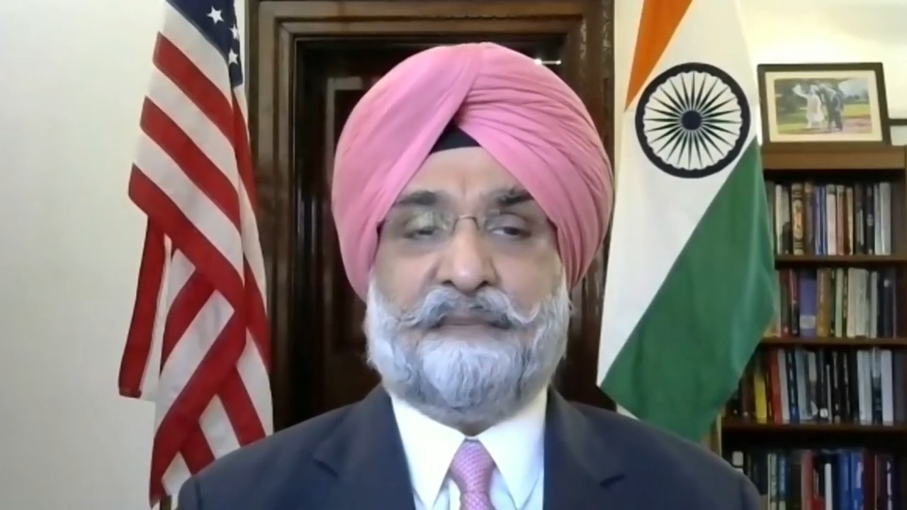 Ambassador Sandhu summed up the current US-Indian relationship in his address and talked about the future of the two nations.