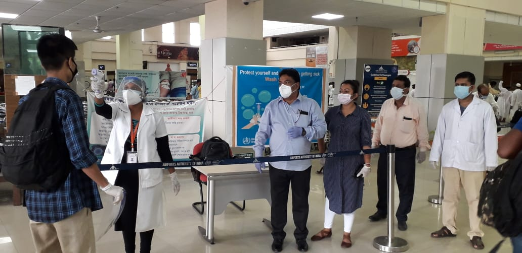 The Ministry of Health and Family Welfare (MoHFW) in consultation with the Ministry of Civil Aviation has reviewed the situation with regard to point-of-entry actions required to minimise the risk of importation of mutant strains of coronavirus.