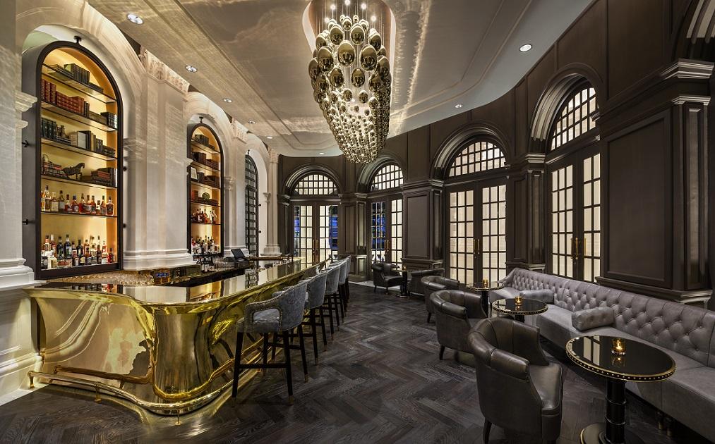 The Writers Bar at Raffles Hotel Singapore. Photo: Raffles Hotel Singapore