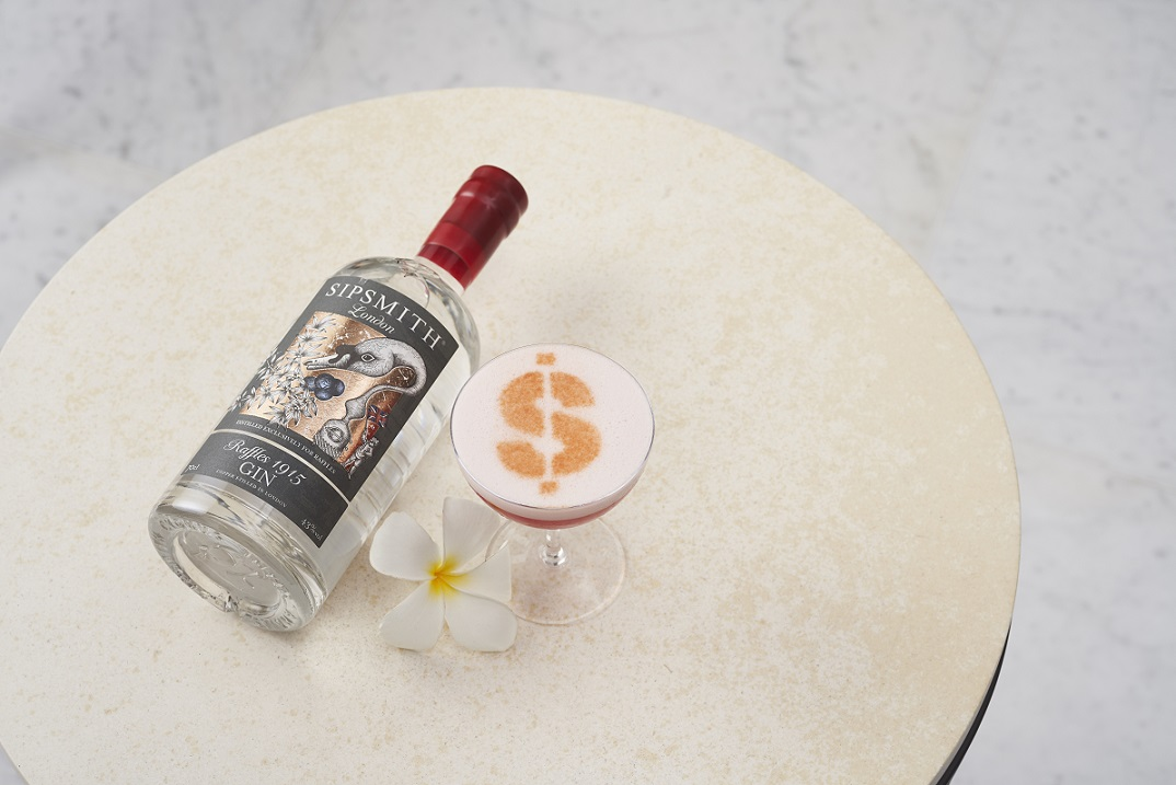 Million Dollar Cocktail was concocted by Ngiam Tong Boon who also created the Singapore Sling. Photo: Raffles Hotel Singapore