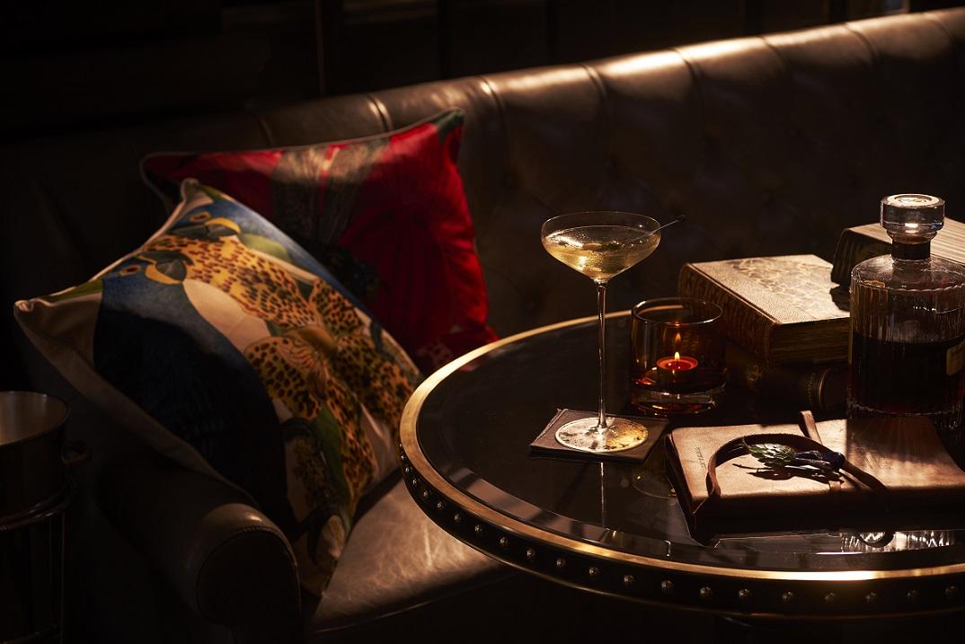Saboteur is a twist on the classic martini recipe. Photo: Raffles Hotel Singapore