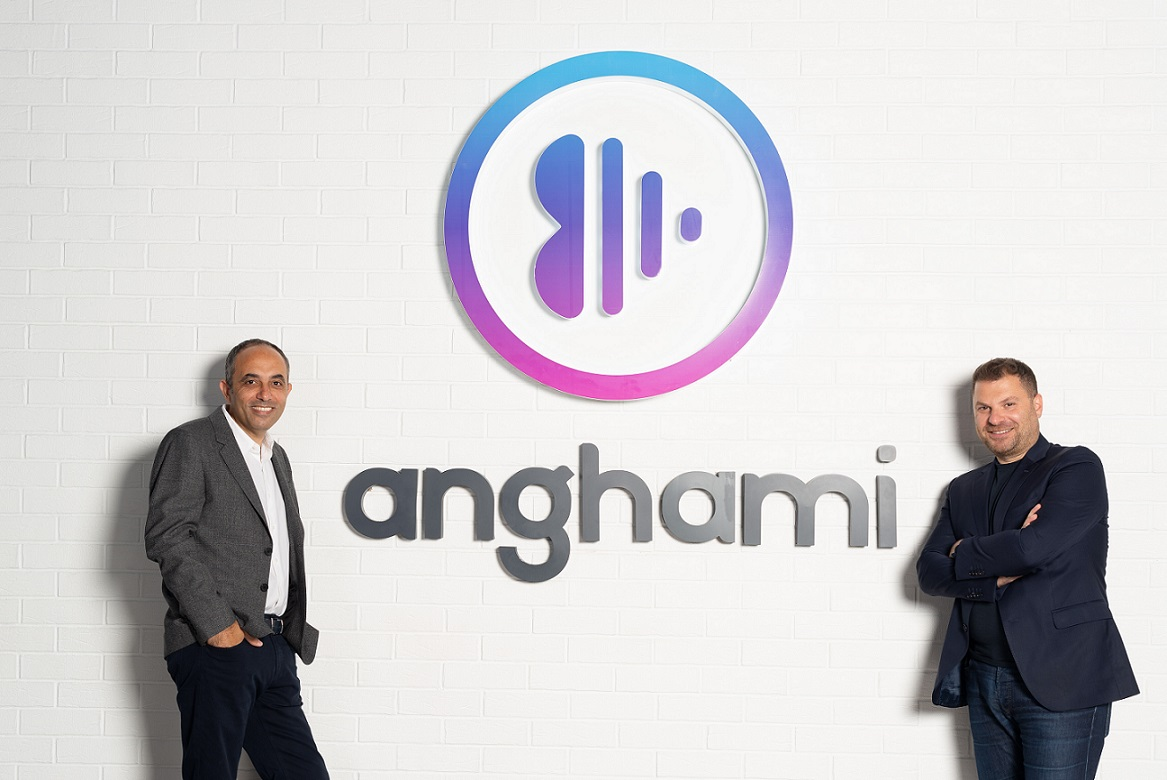 Anghami was founded in 2012 by Eddy Maroun and Elie Habib. Photo courtesy: Anghami