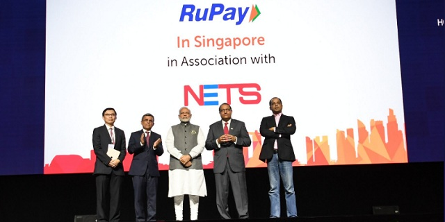 Indian Prime Minister Narendra Modi had in 2018 launched three Indian mobile payment apps in Singapore.