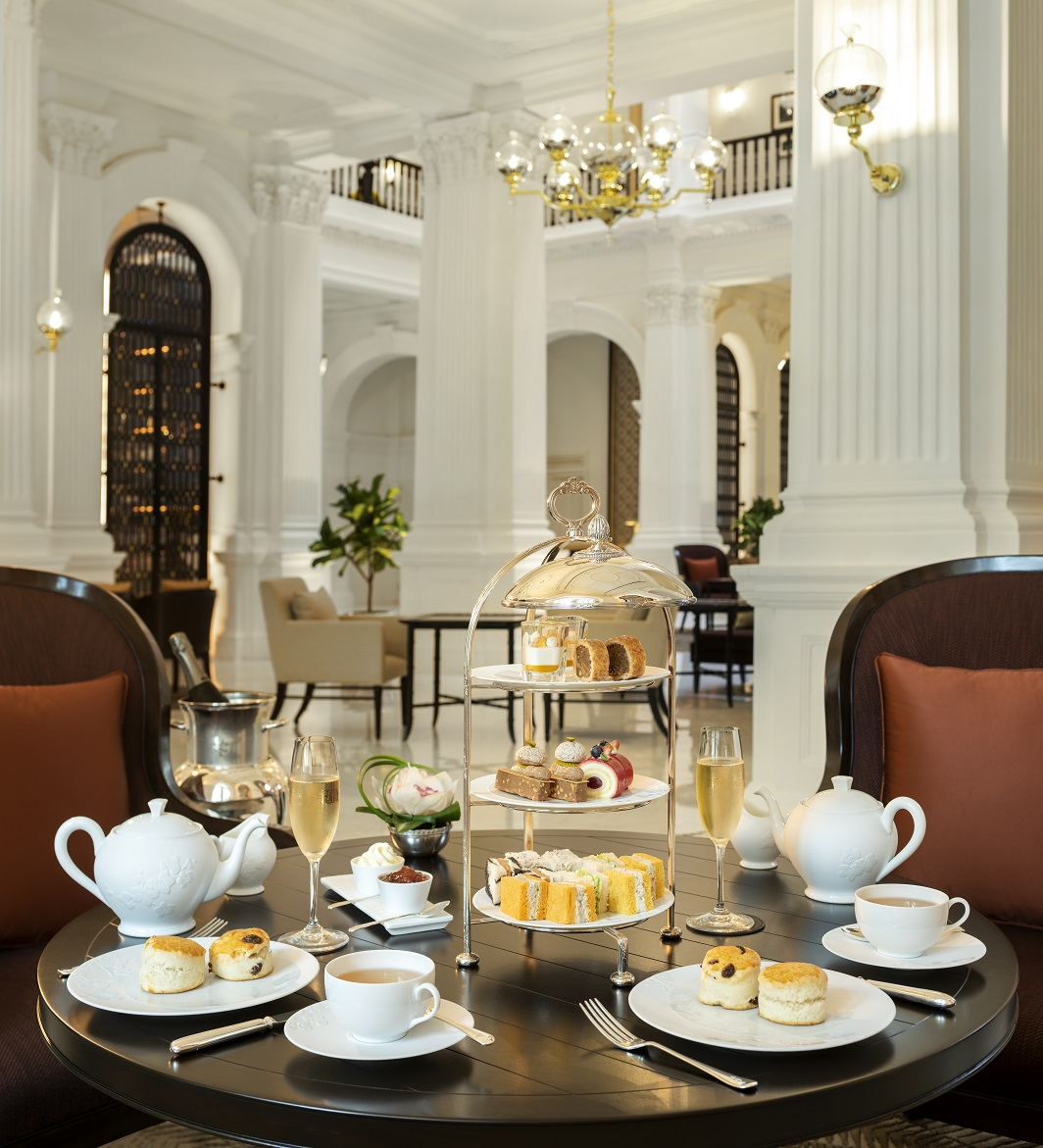 Easter Afternoon Tea will be available from April 2-4. Photo courtesy: Raffles Hotel Singapore