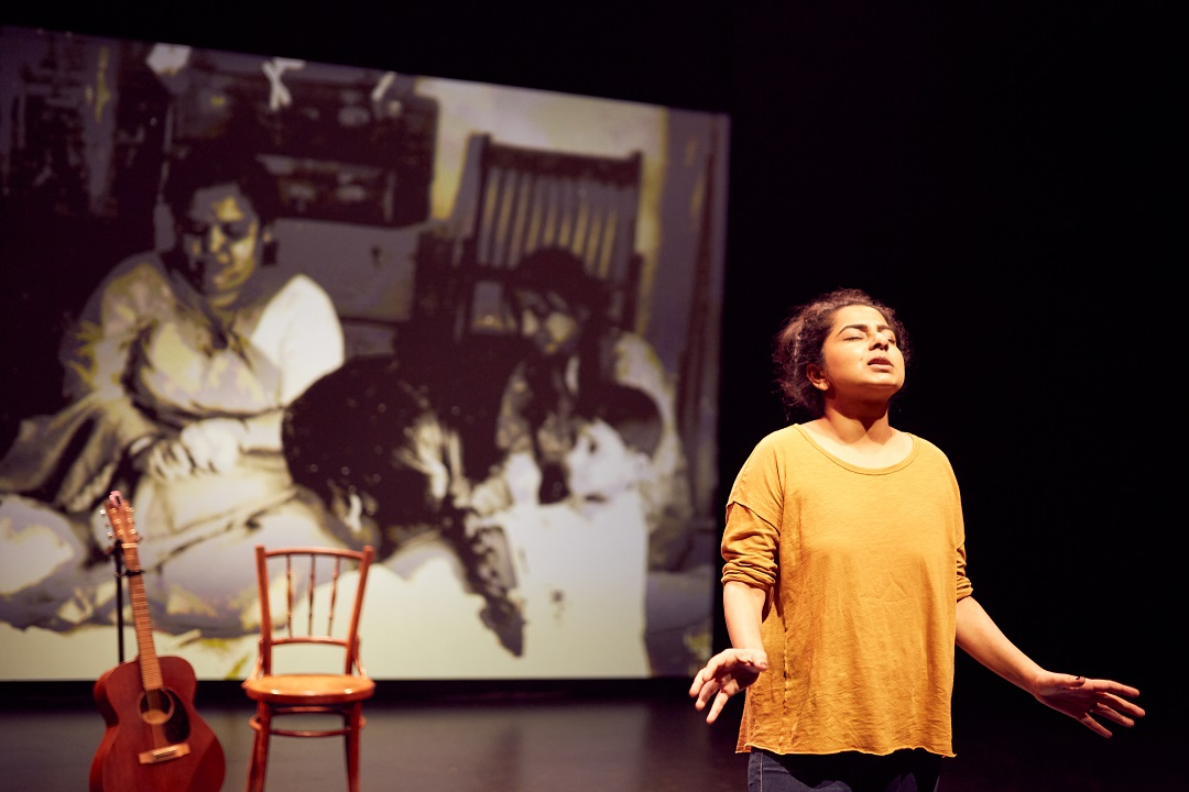 Pooja Nansi in You Are Here. Photo courtesy: Crispian Chan