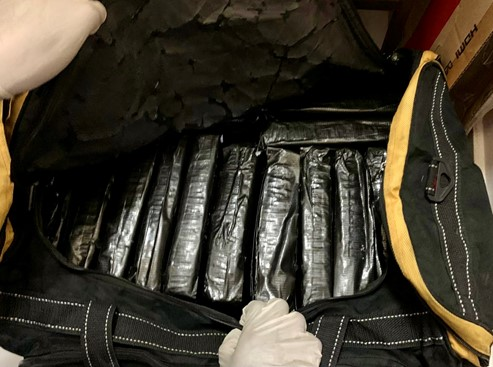 20 bundles containing about 19,772g of cannabis seized from a storeroom in a residential unit in the vicinity of Choa Chu Kang Ave 4 in a CNB operation